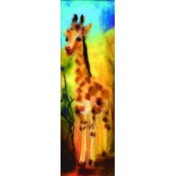 "Marque-page ""Girafe"""